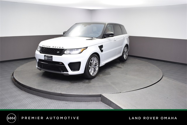 Certified Pre-Owned 2016 Land Rover Range Rover Sport 5.0L V8 Supercharged SVR
